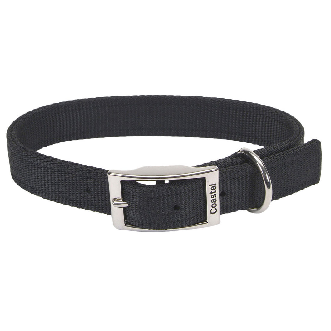 BLACK DOG COLLAR 20''