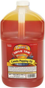 POPCORN OIL CANOLA GALLON