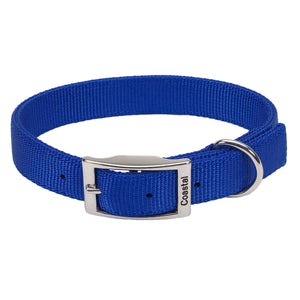 BLUE DOG COLLAR 14''