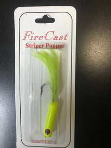 FIRE CAST STRIPER POPPER