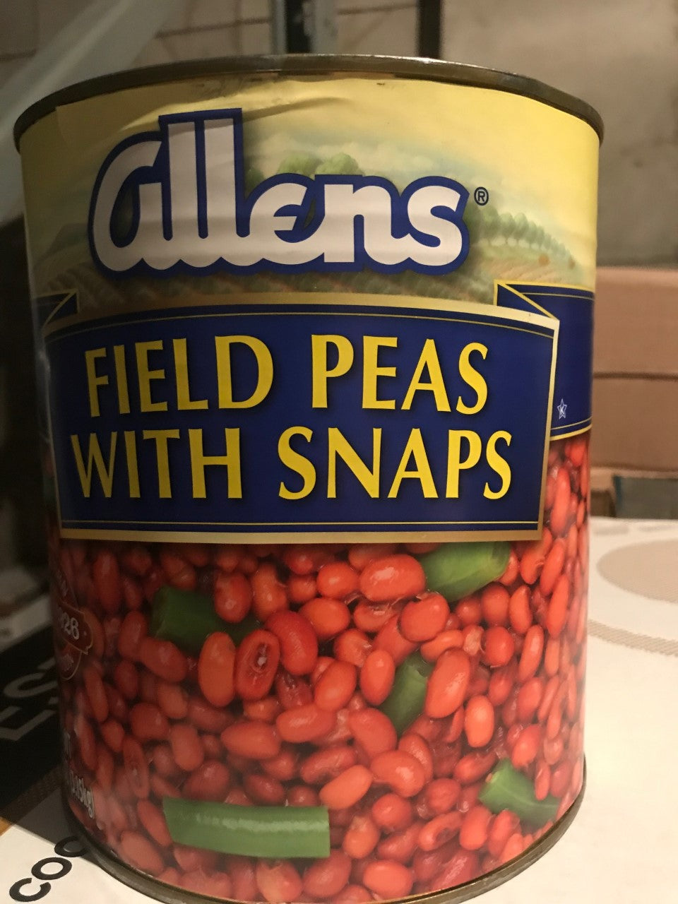 FIELD PEAS GALLON (6/CS)