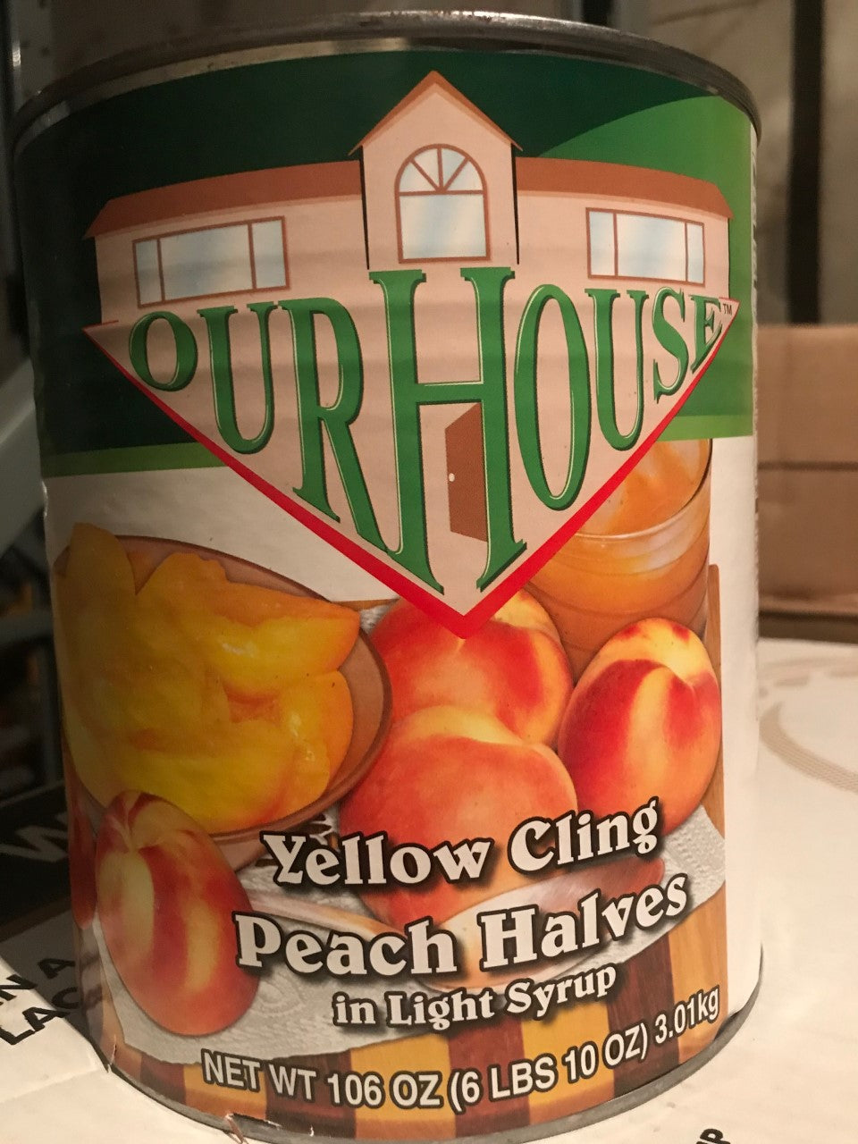 PEACH HALVES GALLON