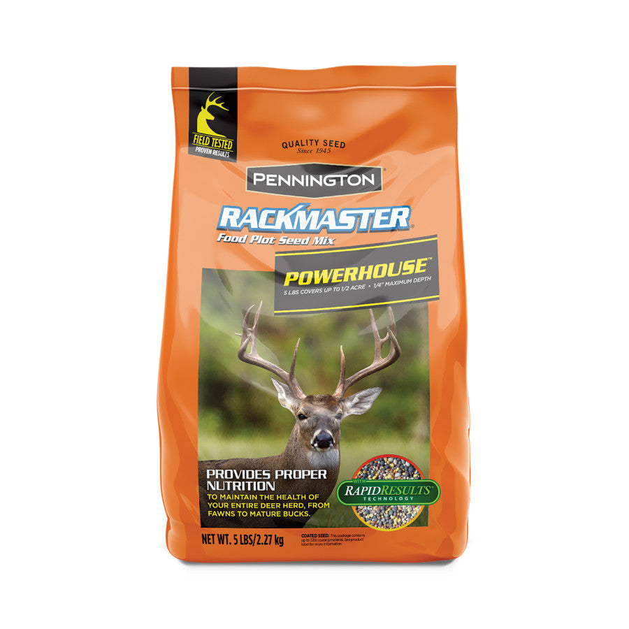 5LB RACKMASTER POWERHOUSE FOOD PLOT MIX
