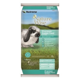 25 LB NATURE WISE RABBIT FEED