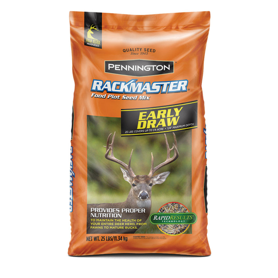 25LB RACKMASTER EARLY DRAW FOOD PLOT SEED