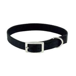 DOG COLLAR BLACK 10''