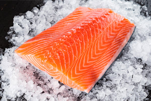Tasmanian Atlantic Salmon Piece per 100g