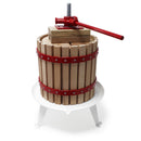 Quality 18L Fruit Press Apple Wine Cider incl. Pulp Bag - maxtech.hu