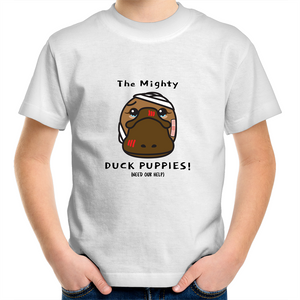 Duck Puppies (Platypus) - AS Colour Kids Youth Crew T-Shirt