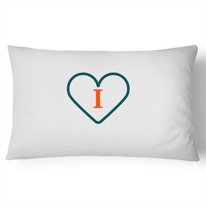 'I' - Live, Life, Love Pillow Case - 100% Cotton