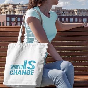 Growth IS Change - Canvas Tote Bag