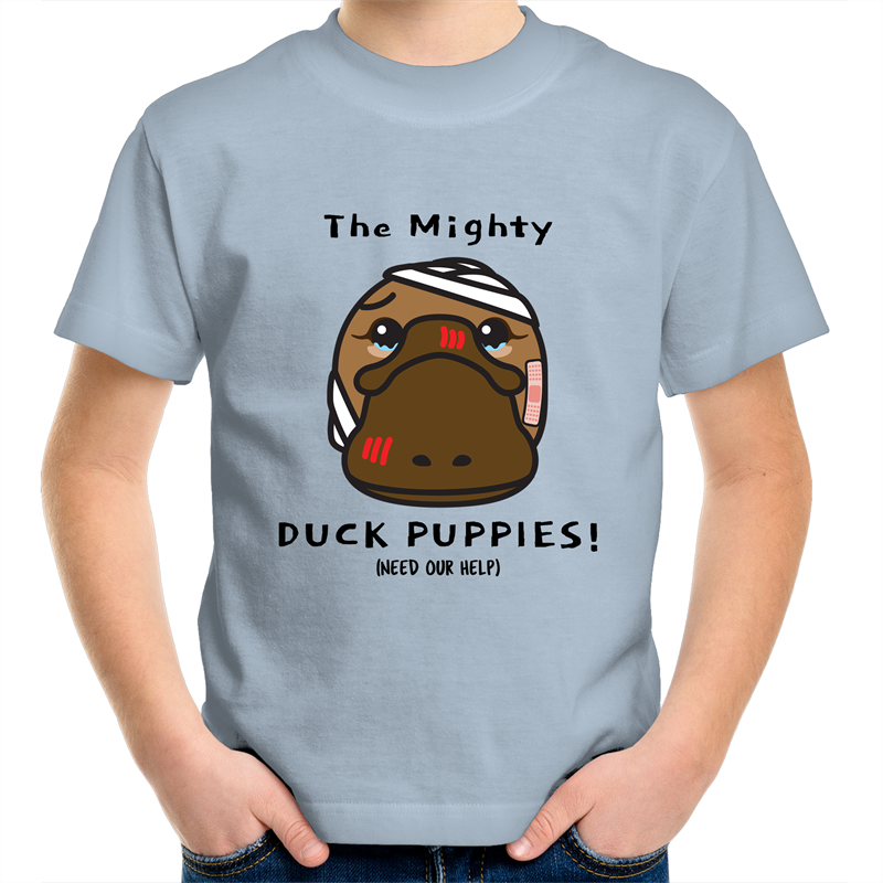Duck Puppies (Platypus) - Kids Youth Comfort T-Shirt