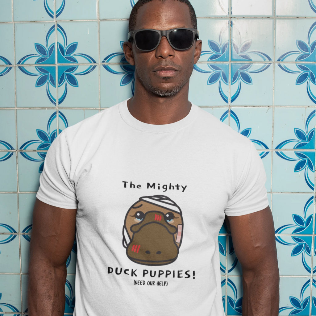 Duck Puppies (need our help) - Etiko - Unisex Fairtrade Organic Crew Tee