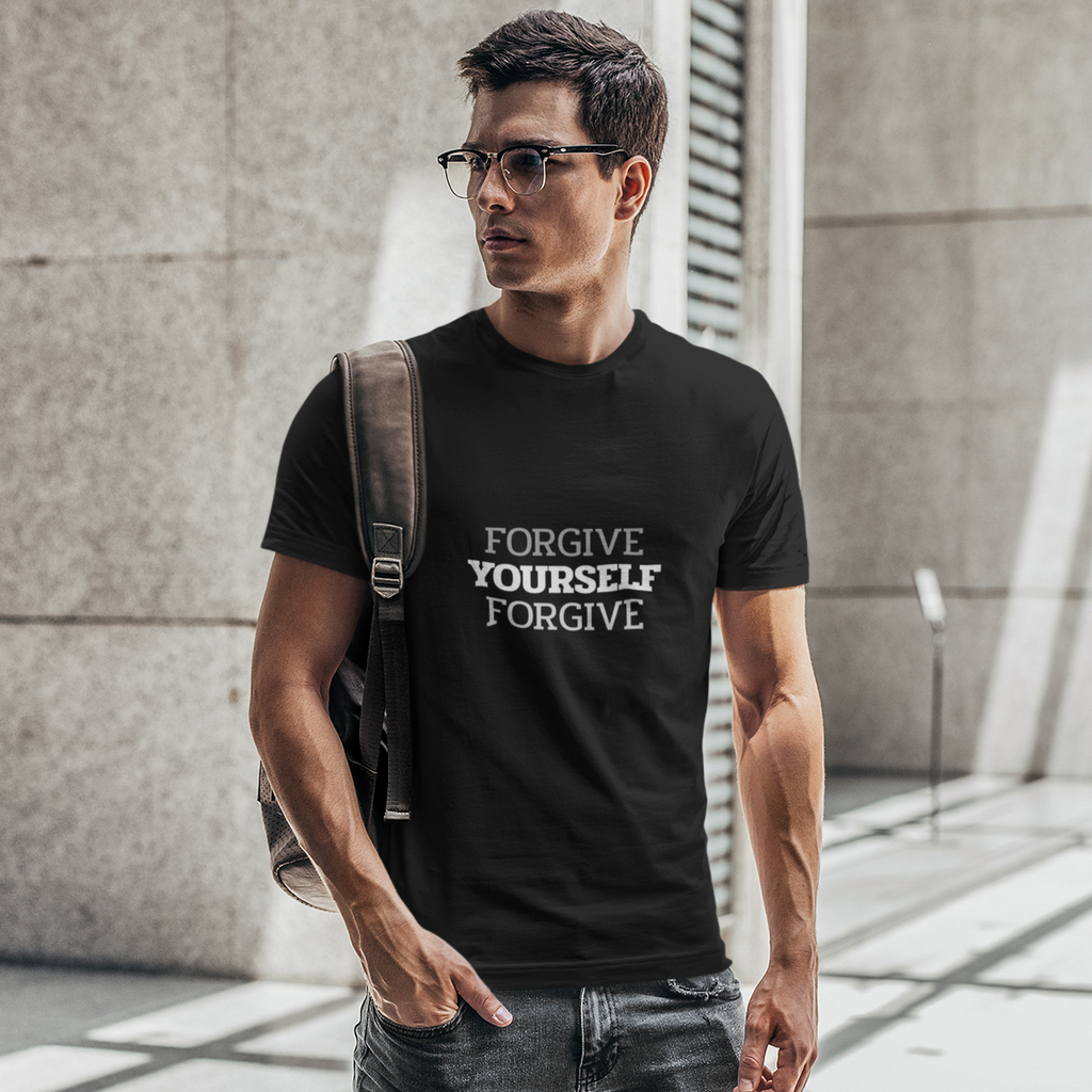FORGIVE YOURSELF - AS Colour Staple - Mens T-Shirt