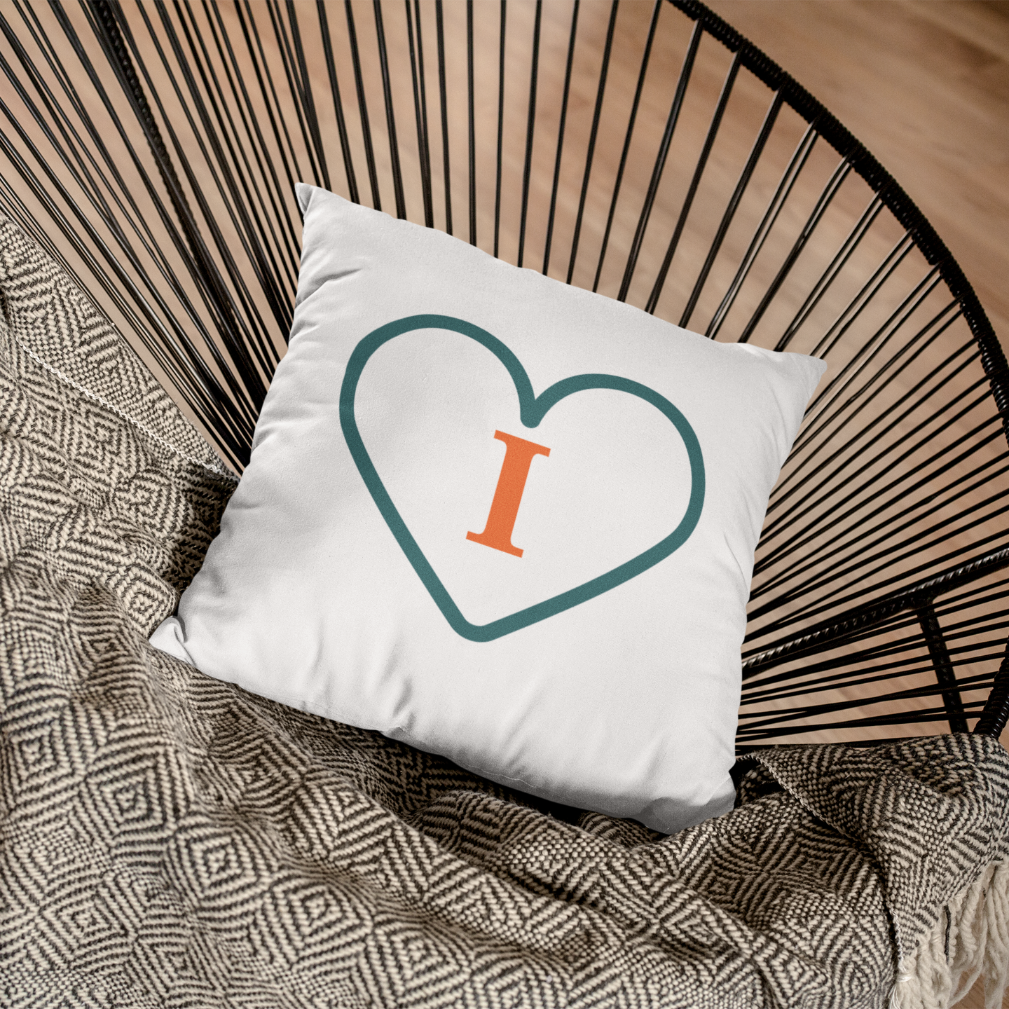 Live, Life, Love - 100% Linen Cushion Cover Each Sold Separately