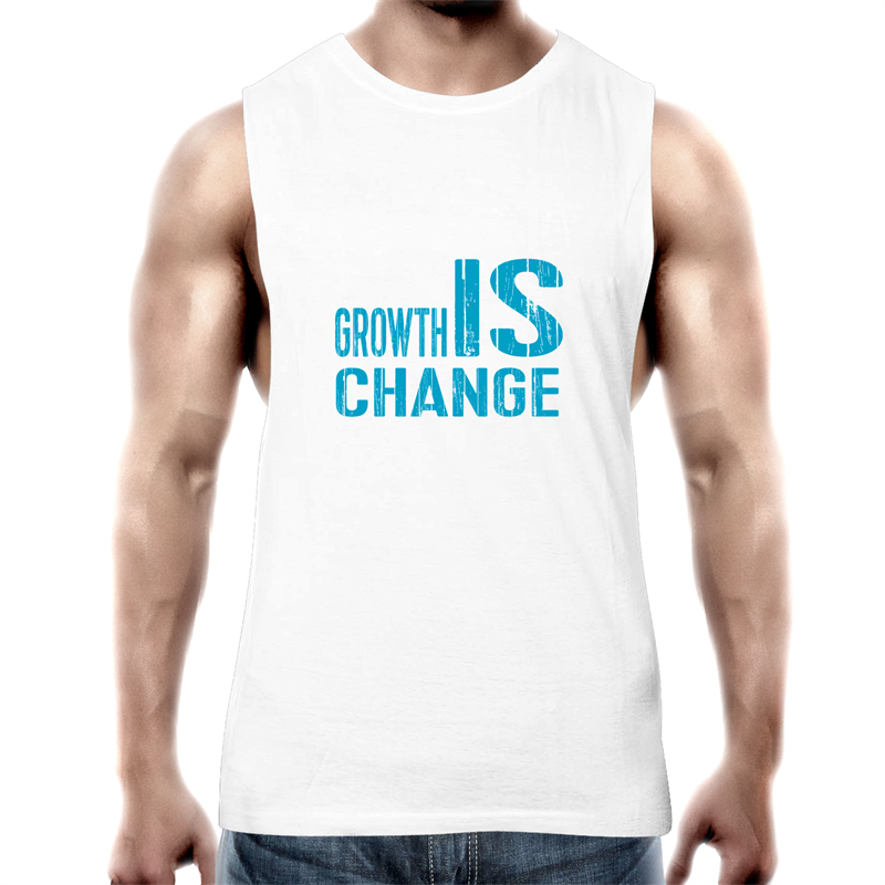 Growth Is Change - AS Colour Barnard - Mens Tank Top Tee