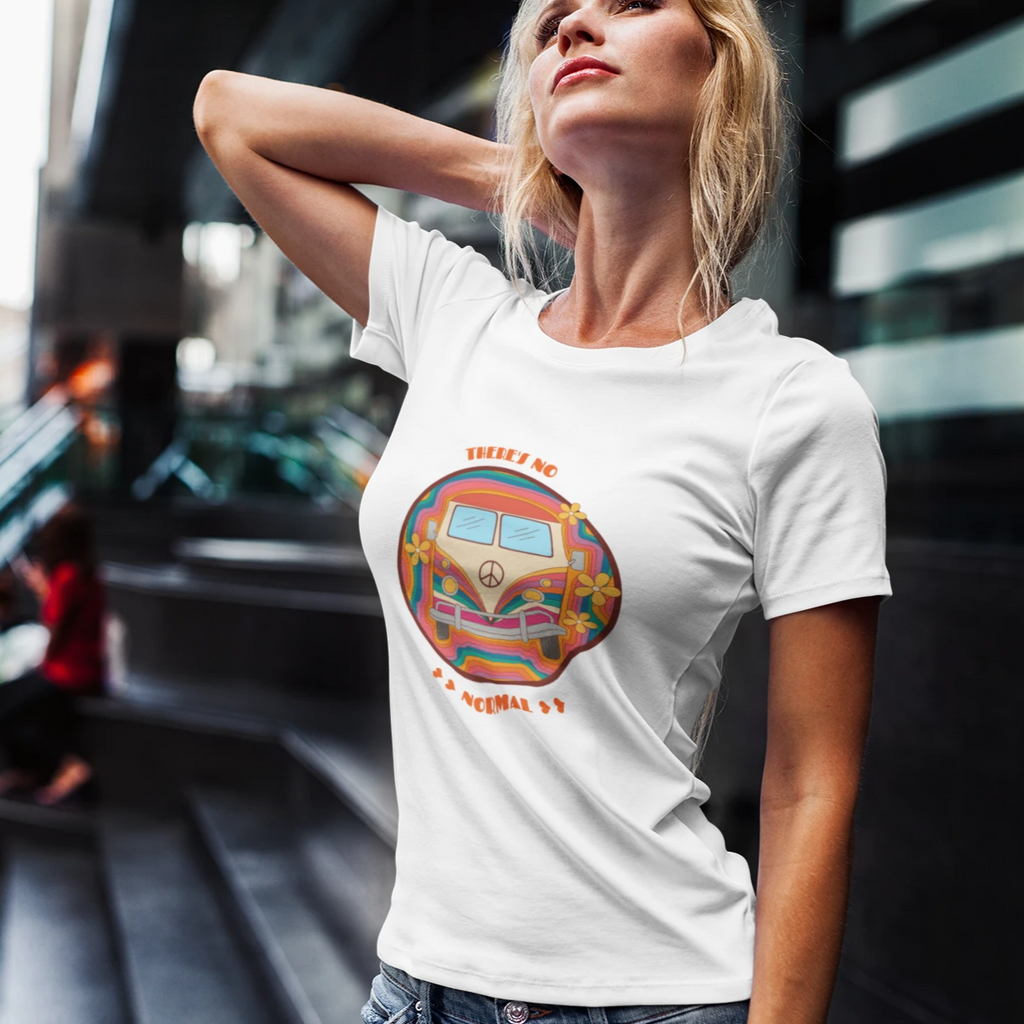 There Is No Normal - Womens Fairtrade Tee