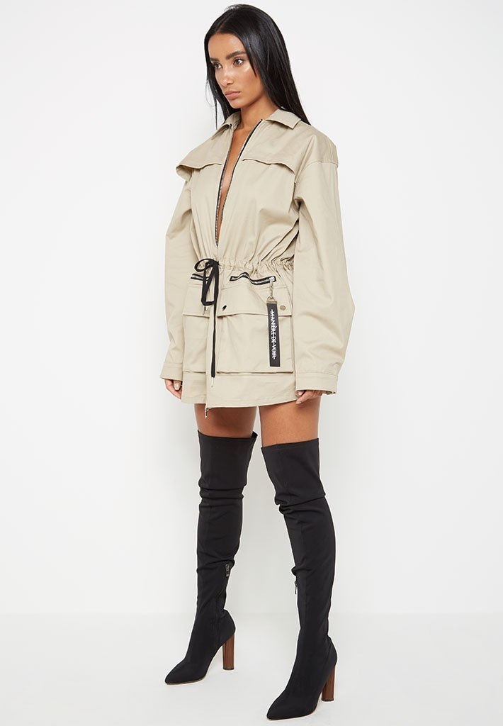 military-cargo-jacket-dress-beige