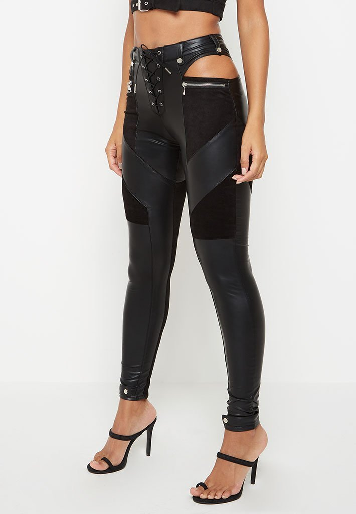 leather-ribbed-front-lace-up-legging-black