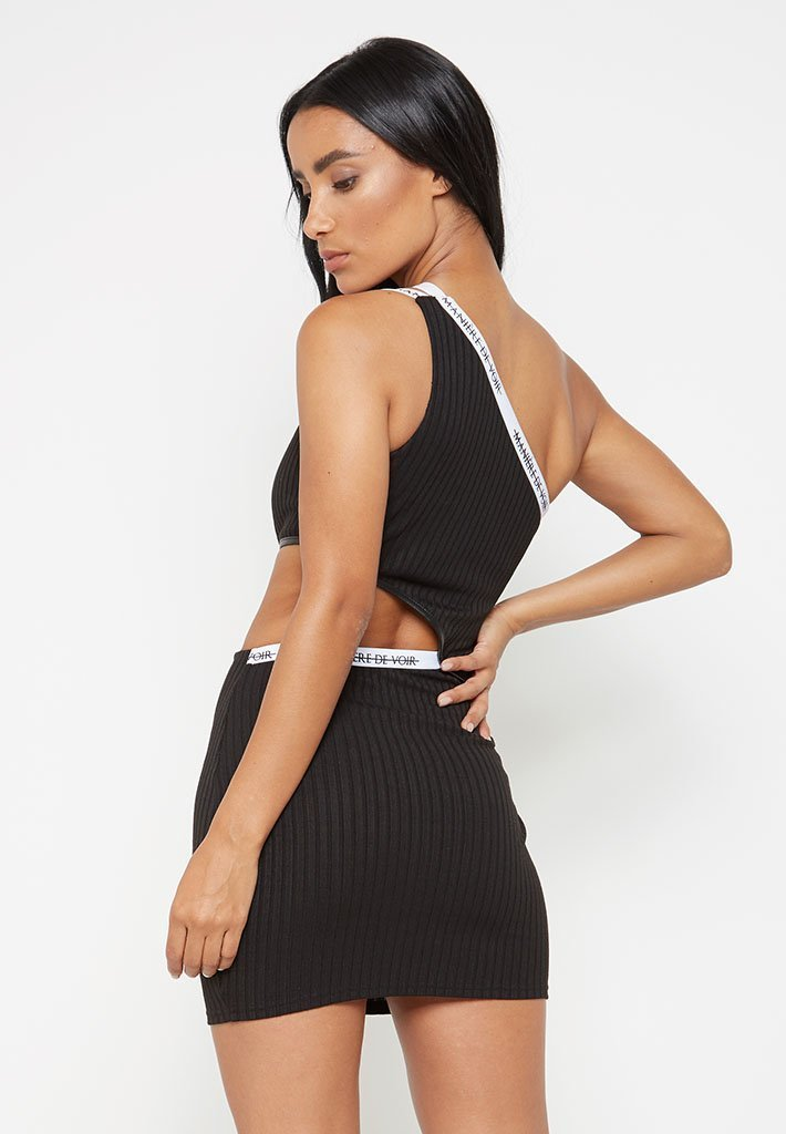 ribbed-cut-out-double-strap-dress-black