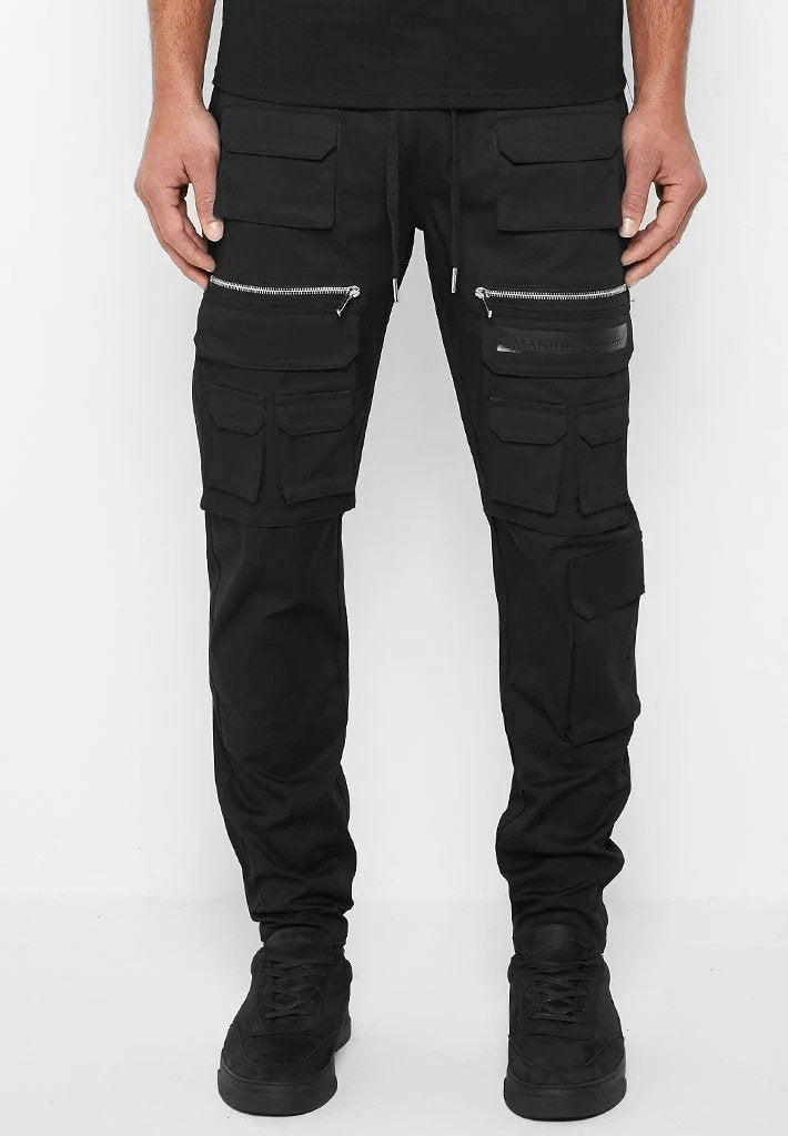 Hardware Cargo Pants - Black