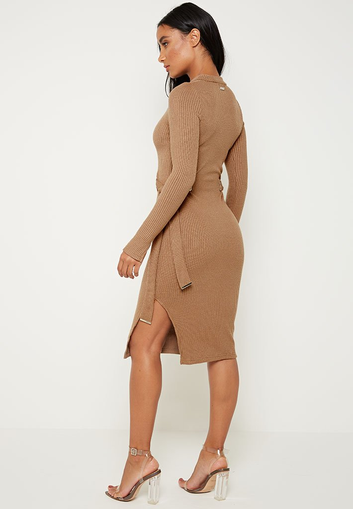 tie-up-ribbed-knitted-midi-dress-dark-beige