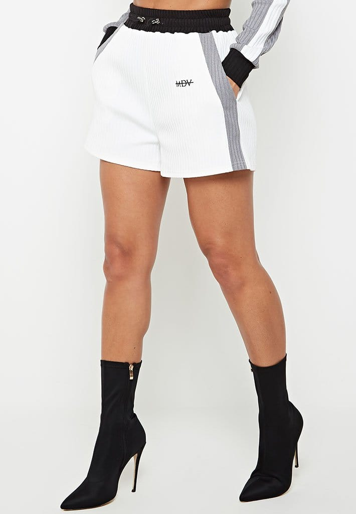 ribbed-track-shorts-white-grey