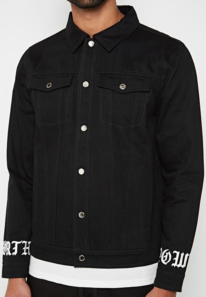 panther-denim-trucker-jacket-black
