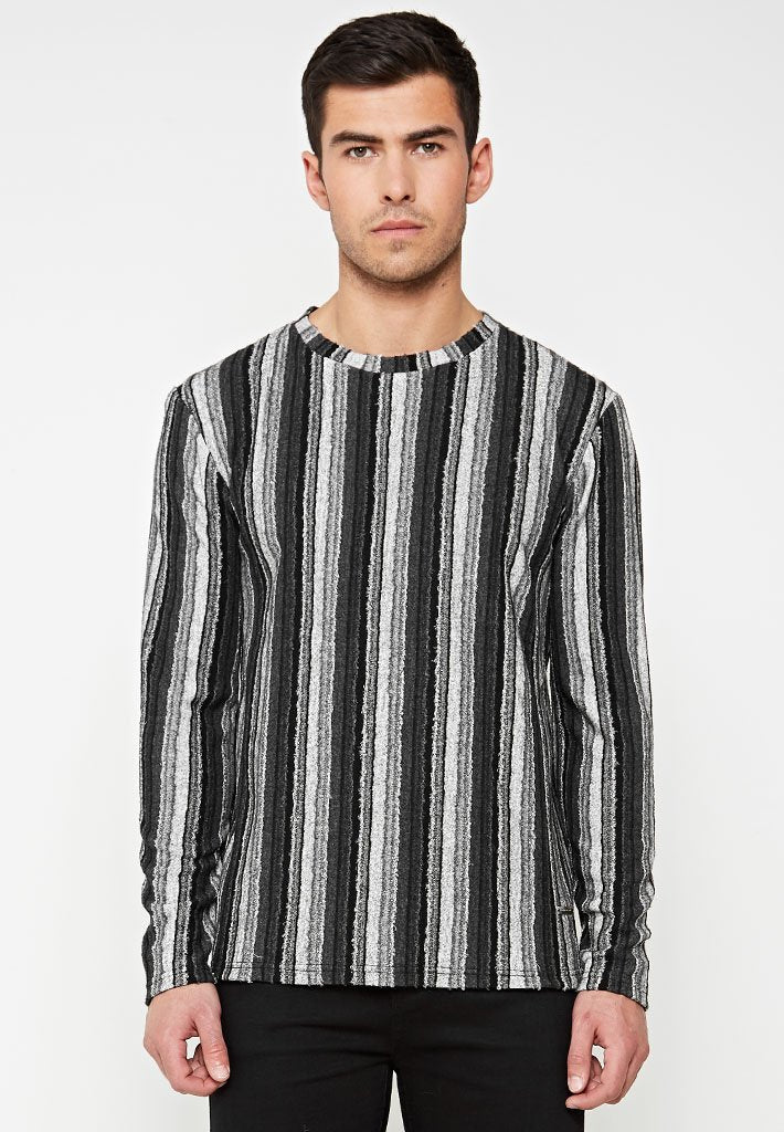 knitted-striped-jumper-grey