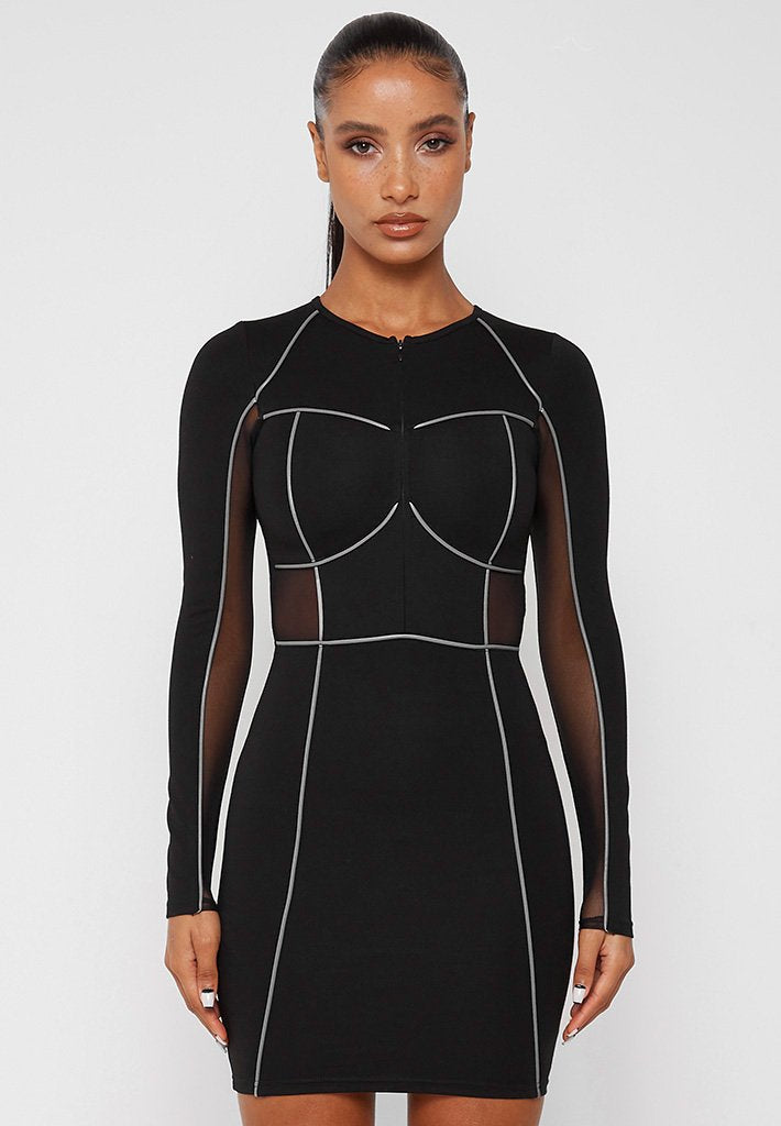 bodycon-dress-with-corset-detail-black