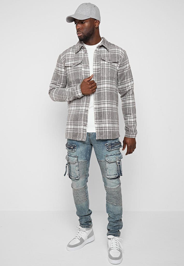 brushed-check-over-shirt-grey