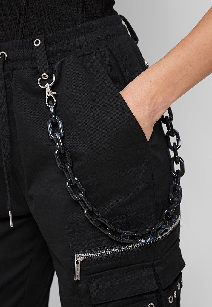 cargo-pants-with-marble-chain-detail-black