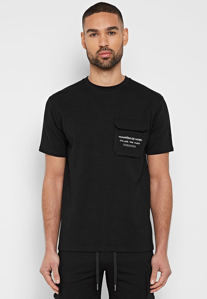 cargo-stamp-print-t-shirt-black