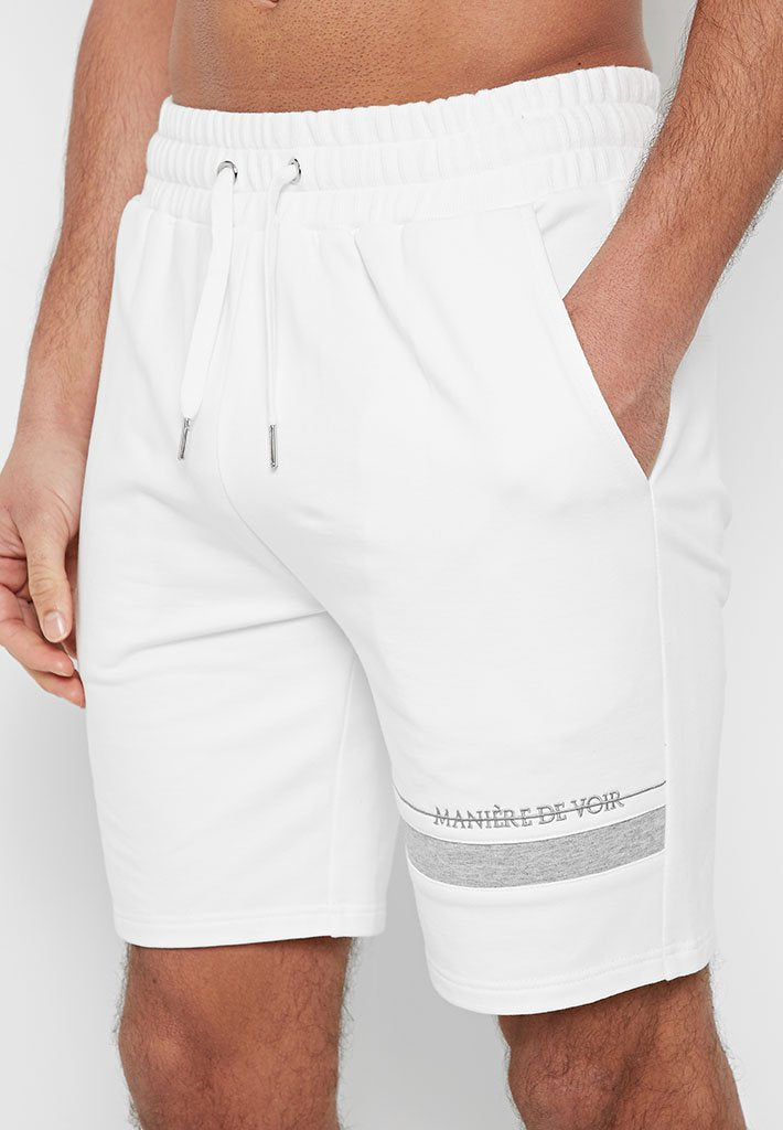 colour-block-shorts-white
