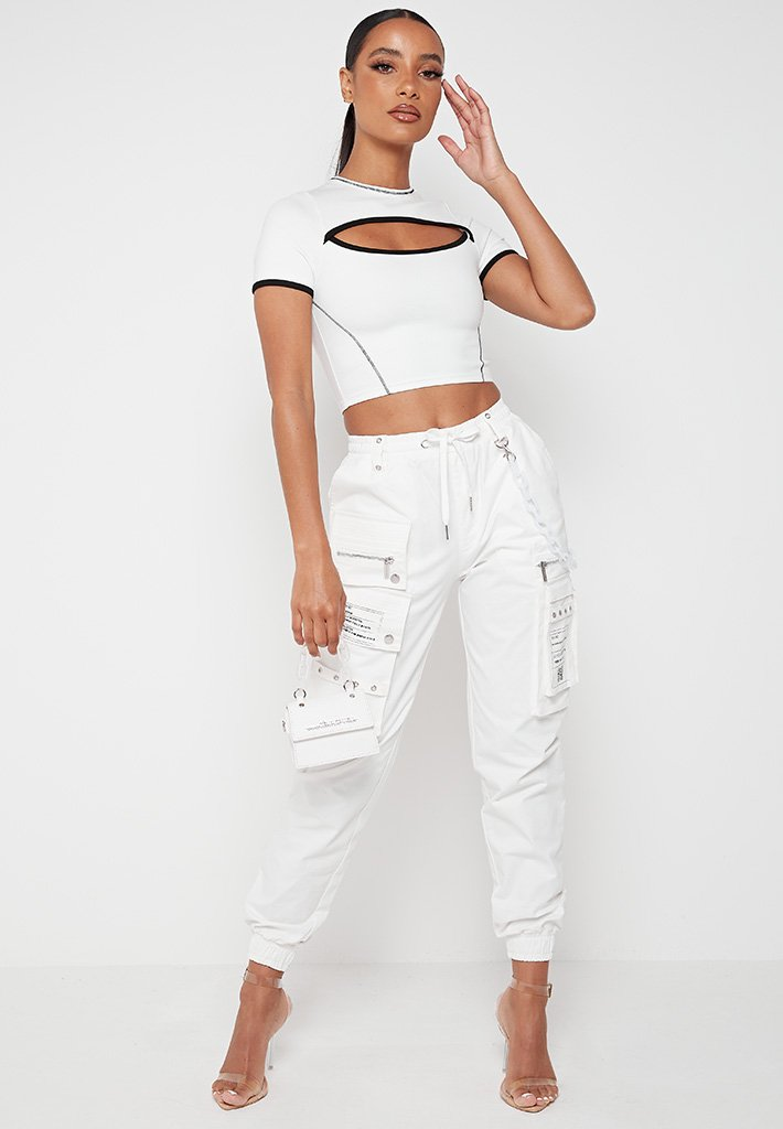 contrast-cut-out-crop-top-white