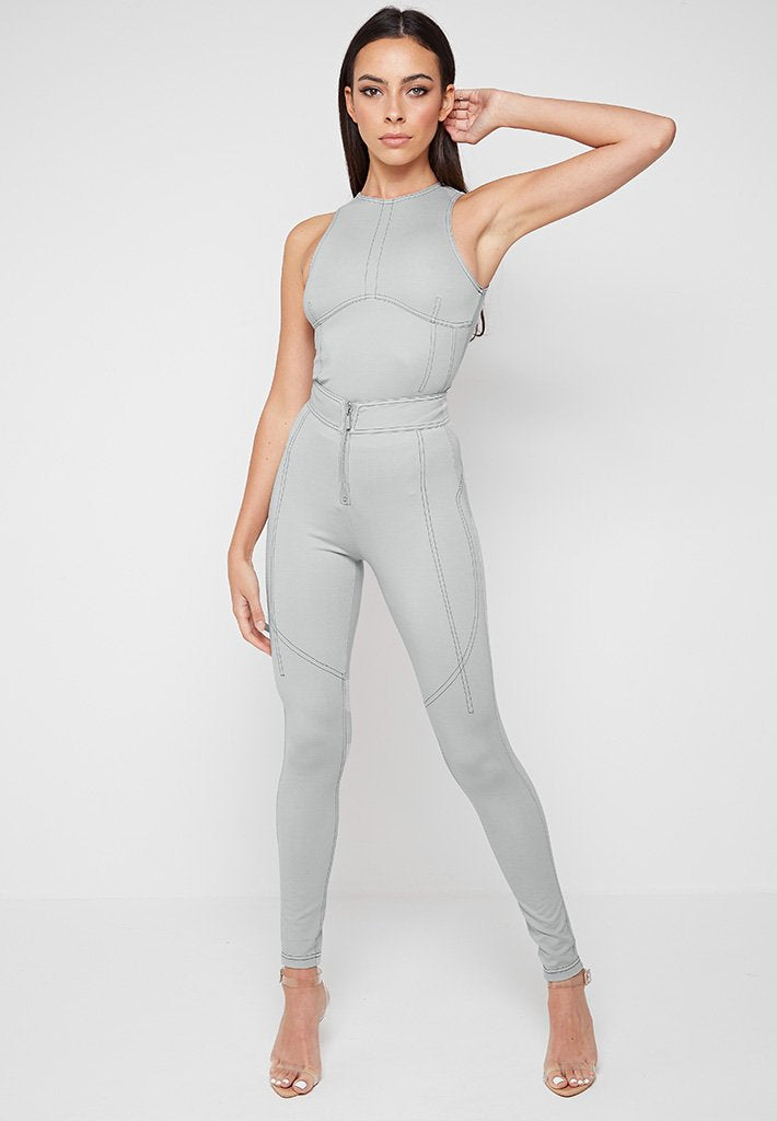 Contrast-Stitch-Leggings-Grey