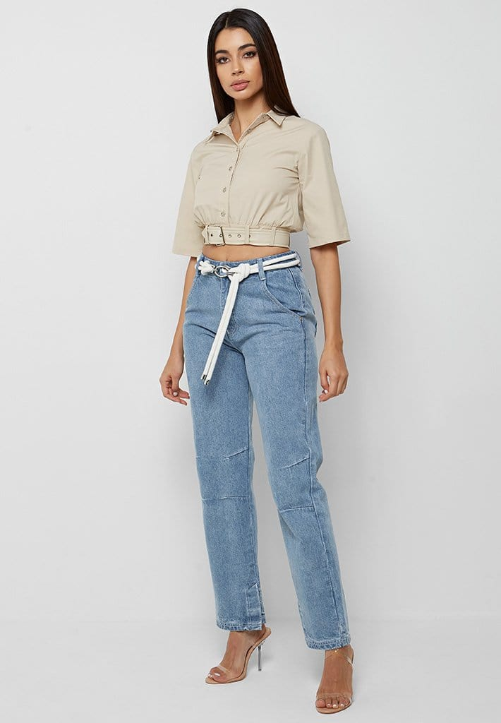 cropped-shirt-with-belt-beige