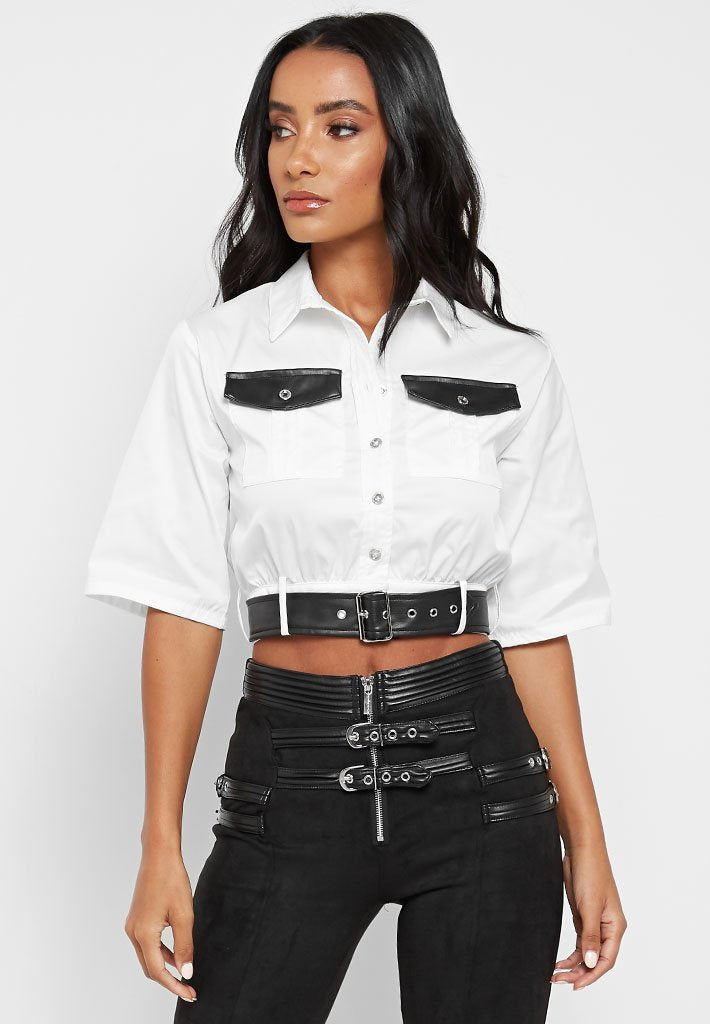 cropped-shirt-with-belt-white