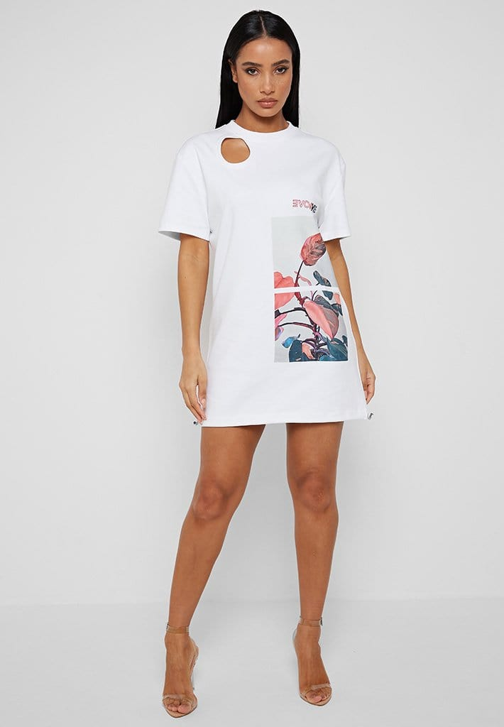 flower-print-t-shirt-dress-white