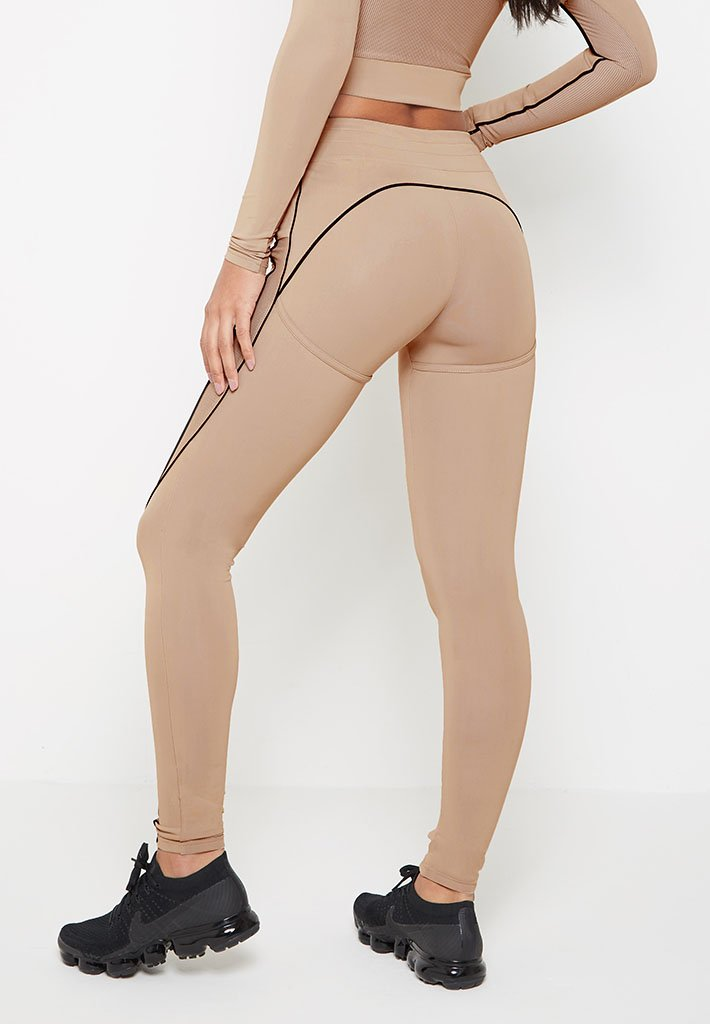 high-waisted-piped-shaped-leggings-beige-with-black