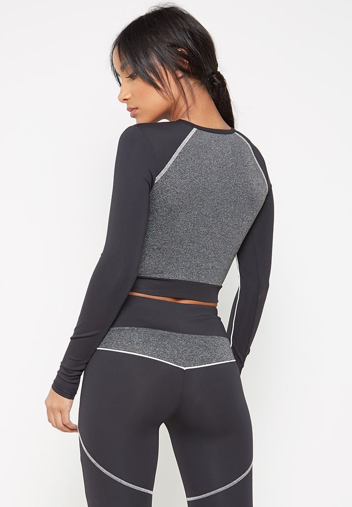 wrap-waist-long-sleeve-top-black-with-grey