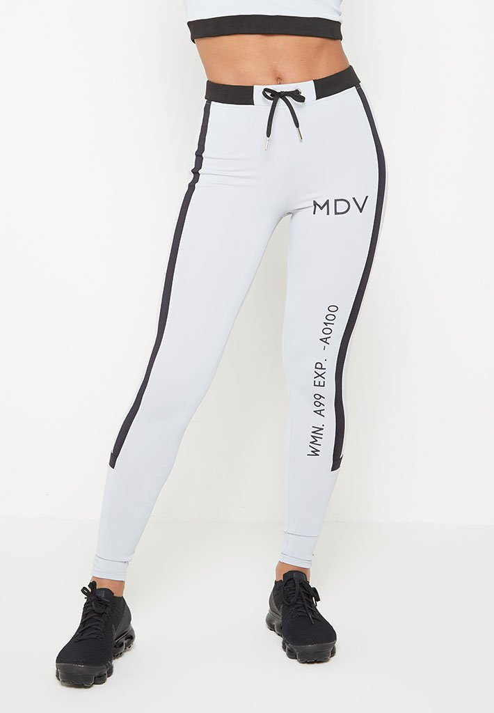 matrix-print-rib-leggings-grey