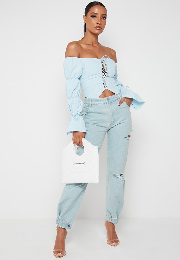 lace-up-puff-sleeve-top-blue