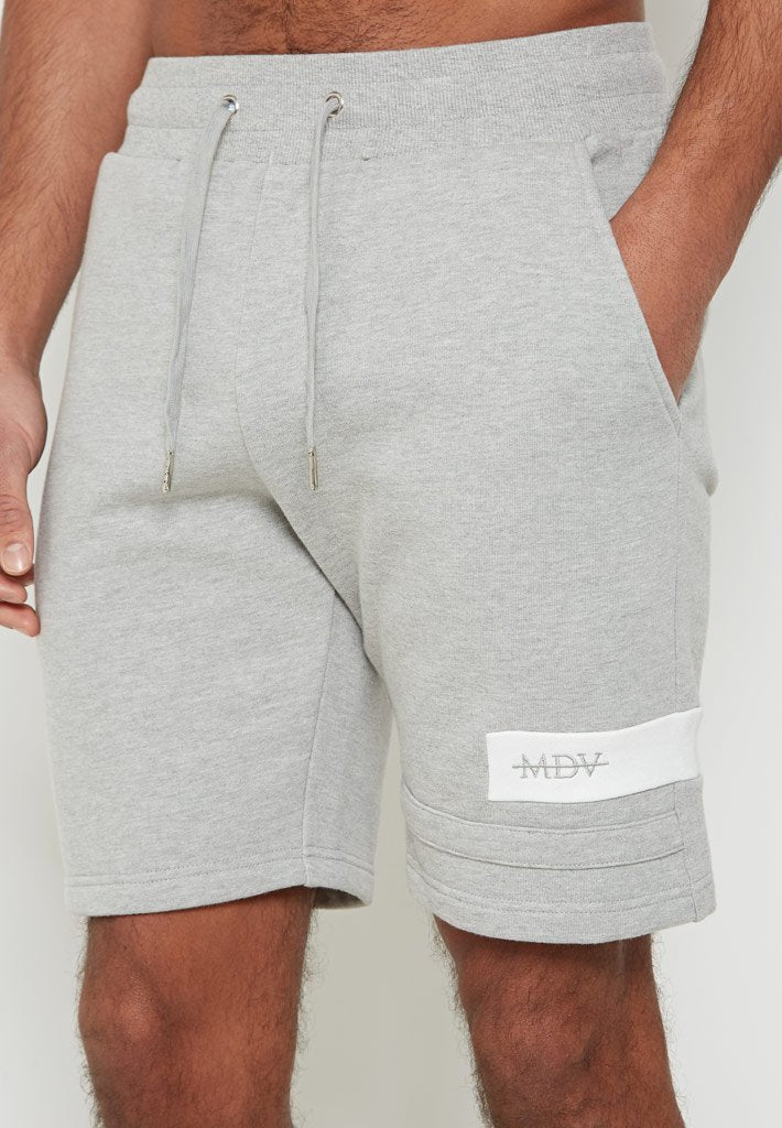 Colour Panel Joggers - Grey