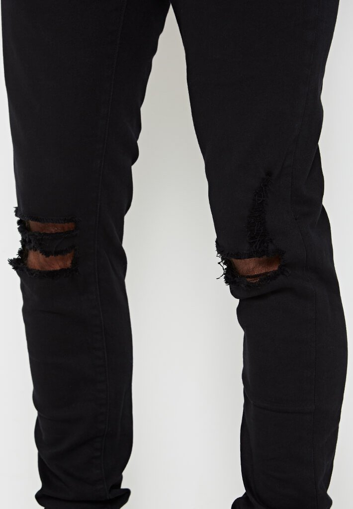 ripped-knee-jeans-black-2