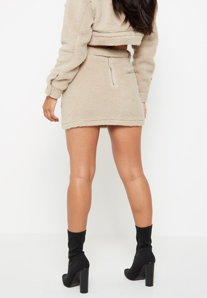 shearling-mini-skirt-beige