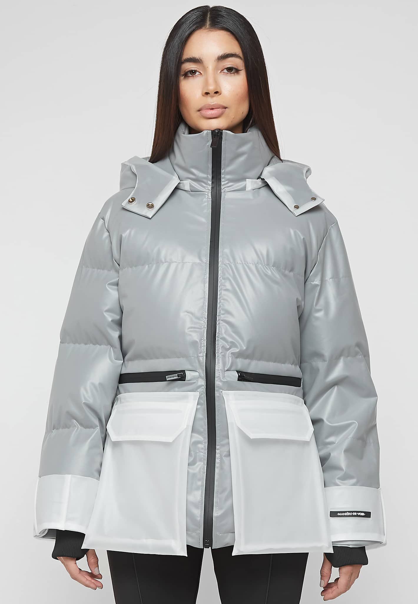 Limited Edition Translucent Puffer Jacket - Frosted