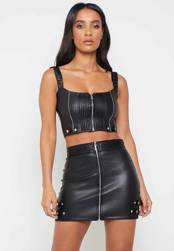 faux-leather-zip-detail-crop-top-black