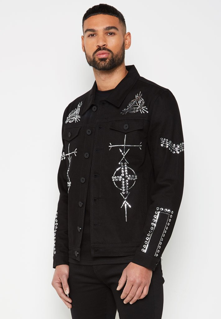 limited-edition-geometric-sequin-trucker-jacket-black