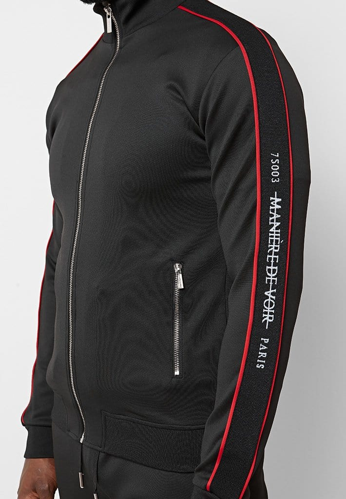 maniere-de-voir-paris-tracksuit-jacket-black-w-red